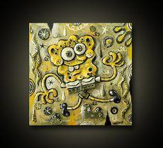 Sponge Bob Square Pants by Alberto Cerriteno