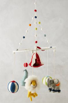Anthropologie Circus Performers Mobile