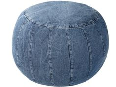 Pouf denim