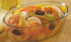 Receita de batata à portuguesa