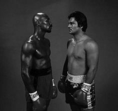 Marvelous Marvin Hagler & Roberto Duran - Face to Face