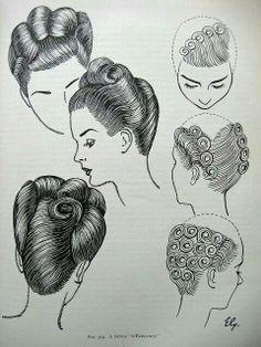 1950 vintage style guide Sharon blain post