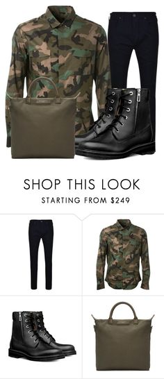 Outfits #2 by emil-d-grand on Polyvore featuring Valentino, True Religion, Want Les Essentiels de la Vie, men's fashion, menswear, cool, Boots and camuflage