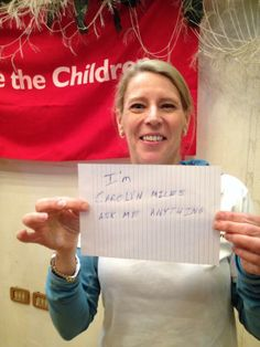 Carolyn Miles, our President & CEO just visited Za'atari refugee camp. Join her Reddit AMA at 11am ET. Here is the proof: pic.twitter.com/fZ5PXsJmHT  #ChildrenofSyria #Syria