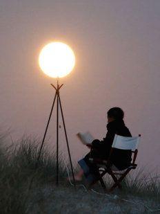 Fotografías mágicas jugando con la Luna