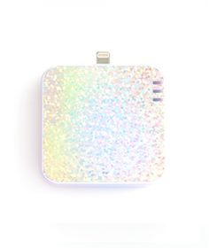 Too cute.  I need this, right now!  Ban.do Back Me Up Mobile Charger - Holographic