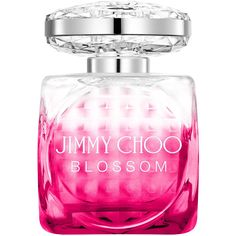 Jimmy Choo Blossom Eau De Parfum 100ml ($105) ❤ liked on Polyvore featuring beauty products, fragrance, perfume, jimmy choo perfume, flower perfume, perfume fragrances, edp perfume and jimmy choo fragrance