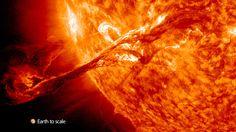 Most Astonishing Solar Eruption Ever Seen | grepScience.com