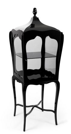 Boca Do Lobo Palatino Display Case @ UBER Interiors; Luxury Furniture, Lighting and Accessories Gothic Interior, Gothic Home Decor, Luxury Interior, Home Interior, Victorian Decor, Victorian Gothic, Modern Interior, Industrial Design Furniture, Gothic Furniture