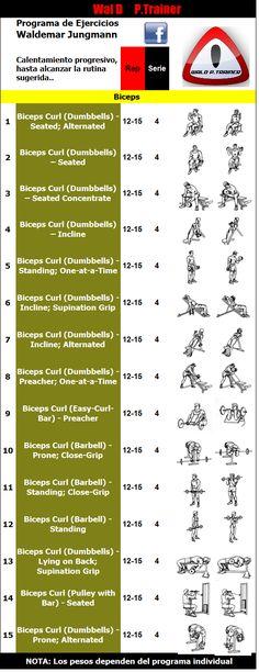 Entreno de Biceps
