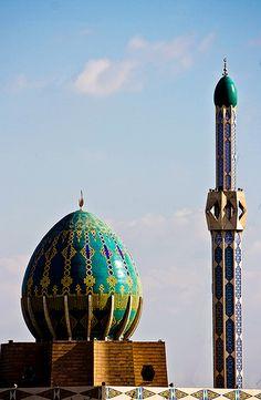 Mosque in Baghdad Iraq .. Baghdad Rasoul Ali جامع في بغداد العراق.. بغداد رسول علي