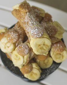 This Banana Pudding Cannoli Will Change The World - Bannoli