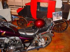 A Triumph owned by Roy Rogers in the Roy Rogers Museum.