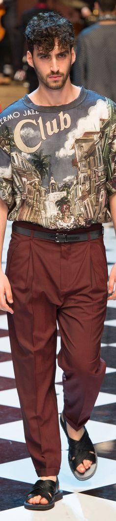 www.2locos.com Dolce & Gabbana - SPRING 2017 MENSWEAR