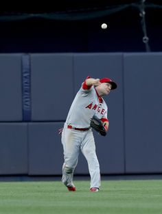 Mike Trout, LAA//June 8, 2016 at NYY
