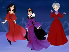), Lady Tremaine – Disney's wicked stepmothers inspired me to do my Disney parents series. Disney Films, Disney Villains, Disney Art, Disney Characters, Snow White Stepmother, Evil Stepmother, Azalea Dress Up, Doll Divine, Dress Up Dolls