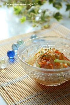 めんつゆで作る春雨サラダ   #recipe