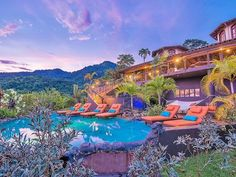 """*Forbes""""World's Top Ten List""""Ocean View Mansion~Shuttle~ Concierge~Maid Included Treehouse Vacations, Inside Mansions, Mountain Villa, Ocean View Villas, Mega Mansions, Mansion Interior, Private Pool, List, Luxury Villa"""