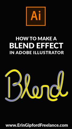In this Adobe Illustrator Video Tutorial I will show you how to use the blend tool to create a unique 3D effect for your next graphic design project! #adobeillustrator #blendtool #graphicdesign
