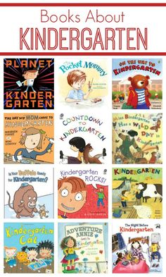 Books About Kindergarten from Fantastic Fun and Learning