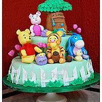 """18-6- bolo """"Winnie the Pooh"""", by Dragonfly Doces"""