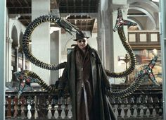 Alfred Molina as Otto Octavius/Doctor Octopus in Spider Man 2 Andrew Garfield, Benedict Cumberbatch, Spider Man 2, Spiderman Spider, Dr Strange, Marvel Characters, Marvel Movies, Marvel Villains, Cinema Video
