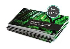 High Quality Business Cards on Thick 100% Certified Recycled Card. 100's Online Templates Available. Fast UK Delivery. http://www.printinglounge.com/recycled-business-cards/