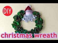 DIY craft  for Christmas - Christmas wreath