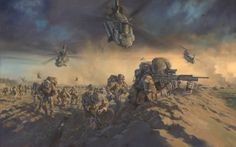 1 Royal Welsh Battle Group, Operation Moshtarak, Helmand Province, Afghanistan, Febuary 2010.
