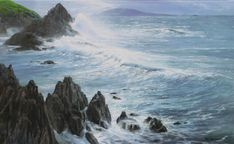 """Heavy Weather \\ Peter Ellenshaw (1913-2007) - English painter \\ other pictures on the board """"  artists"""""""
