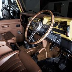 Retro Edition Interiors - #TwistedDefender #Interior #Detailing #Retro #Edition…