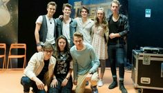 Alex and co with the Vamps