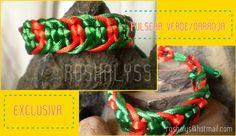 Las Manualidades de Roshalyss: Colección pulseras amarillas
