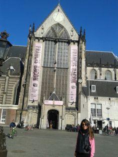 de nieuwe kerk in Amsterdam, Noord-Holland