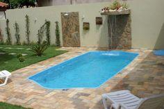 piscina de fibra para quintal pequeno - Pesquisa Google