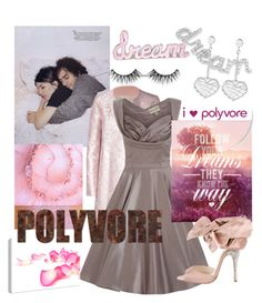 """""""Dreaming on Polyvore"""" by sheric62 on Polyvore featuring Mary Katrantzou, Brian Atwood, Hippie Dreamers, Links of London, women's clothing, women, female, woman, misses and juniors"""