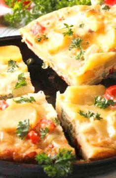 Low FODMAP Recipe and Gluten Free Recipe - Spanish omelette    http://www.ibs-health.com/low_fodmap_s1panish_omelette.html