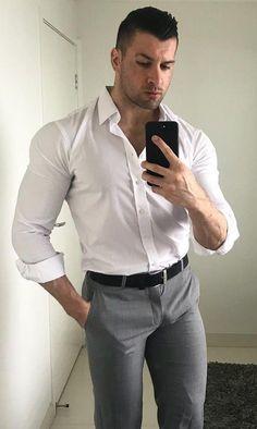 Handsome Men Quotes, Handsome Arab Men, Beautiful Women Quotes, Beautiful Men, Tight Suit, Strong Woman Tattoos, Hunks Men, Athletic Men, Well Dressed Men