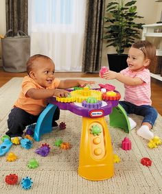 Look what I found on #zulily! Little Tikes Little Tikes Giggly Gears Twirly Table by Little Tikes #zulilyfinds
