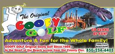 Goofy Golf - a summer tradition at PCB since 1959