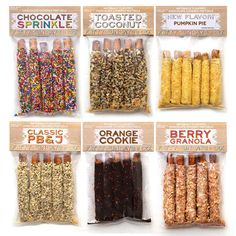 unique flavors of dipped pretzels