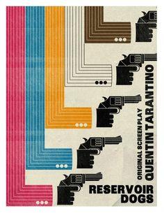 #movie #poster Reservoir Dogs #graphic #design #illustration #cinema