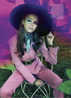 Mod Love | Valeria Efanova | Leda & St.Jacques #photography | Elle Canada October 2012