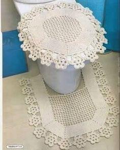 #croche #crochetando #crochet #crocheting #crochetaddict #instacrochet #instabeauty #ideias #ideiascriativas #lindo #beautiful #decor #decoração #deus #deusnocomando #vicio #jogodebanheiro by crochet_net