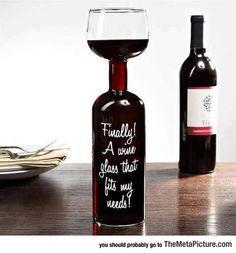 My Kind Of Wine Glass