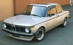 If not a vintage station wagon, then an early 70's BMW 2002 tii.