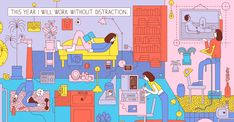 Martina Paukova - This Year I Will Work Without Distraction