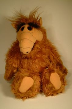 """I LOVE ALF!!! I wanted to marry him when I was 5!! This is probably why I like hairy guys w/olive skin  big """"greek"""" noses. LOL - Jonette"""