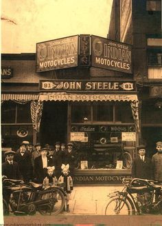 John Steele Indian MoToCycles