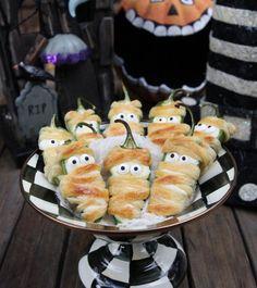 Halloweeño Jalapeño Poppers | 21 Halloween Party Snacks That Are Pretty Darn Clever